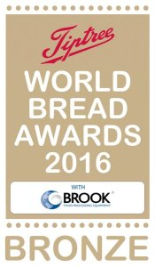World Bread Awards 2016 Bronze - Almond Babka