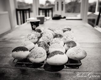 Mixed seed buns